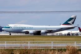 kingmengraiさんが、成田国際空港で撮影したキャセイパシフィック航空 747-412(BCF)の航空フォト(飛行機 写真・画像)