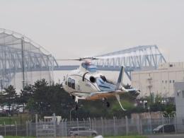 gennai04さんが、東京ヘリポートで撮影した日本デジタル研究所(JDL) AW109SPの航空フォト(飛行機 写真・画像)
