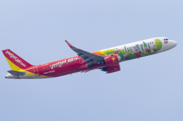 mameshibaさんが、成田国際空港で撮影したベトジェットエア A321-271Nの航空フォト(飛行機 写真・画像)