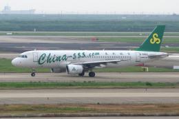 yabyanさんが、上海浦東国際空港で撮影した春秋航空 A320-214の航空フォト(飛行機 写真・画像)