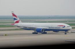 yabyanさんが、上海浦東国際空港で撮影したブリティッシュ・エアウェイズ 777-236/ERの航空フォト(飛行機 写真・画像)