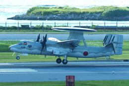 yabyanさんが、那覇空港で撮影した航空自衛隊 E-2C Hawkeyeの航空フォト(飛行機 写真・画像)