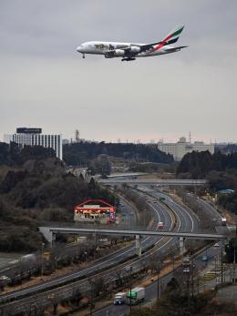flytaka78さんが、成田国際空港で撮影したエミレーツ航空 A380-861の航空フォト(飛行機 写真・画像)
