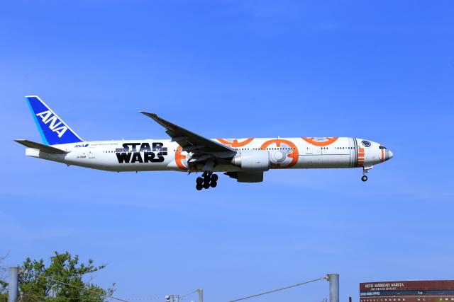 おっしーさんが、成田国際空港で撮影した全日空 777-381/ERの航空フォト(飛行機 写真・画像)