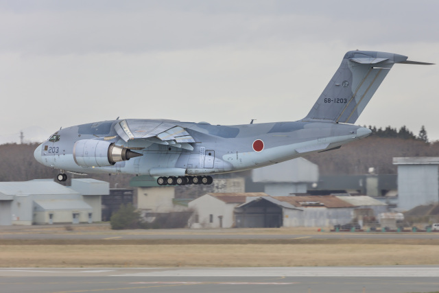 norimotoさんが、三沢飛行場で撮影した航空自衛隊 C-2の航空フォト(飛行機 写真・画像)