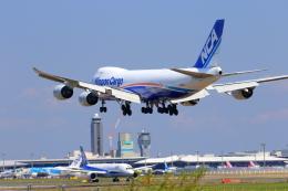 おっしーさんが、成田国際空港で撮影した日本貨物航空 747-8KZF/SCDの航空フォト(飛行機 写真・画像)