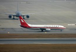 tsubameさんが、仁川国際空港で撮影した上海航空 737-86Nの航空フォト(飛行機 写真・画像)