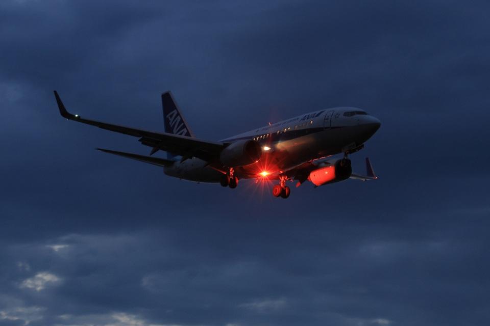 julyさんの全日空 Boeing 737-700 (JA06AN) 航空フォト