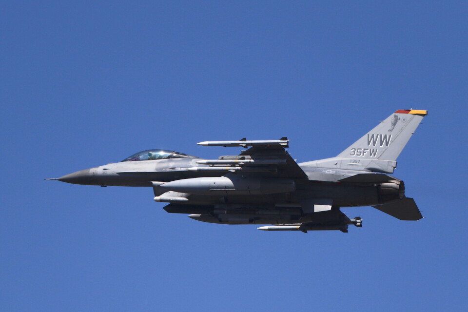 MH-38Rさんのアメリカ空軍 General Dynamics F-16 Fighting Falcon (91-0357) 航空フォト