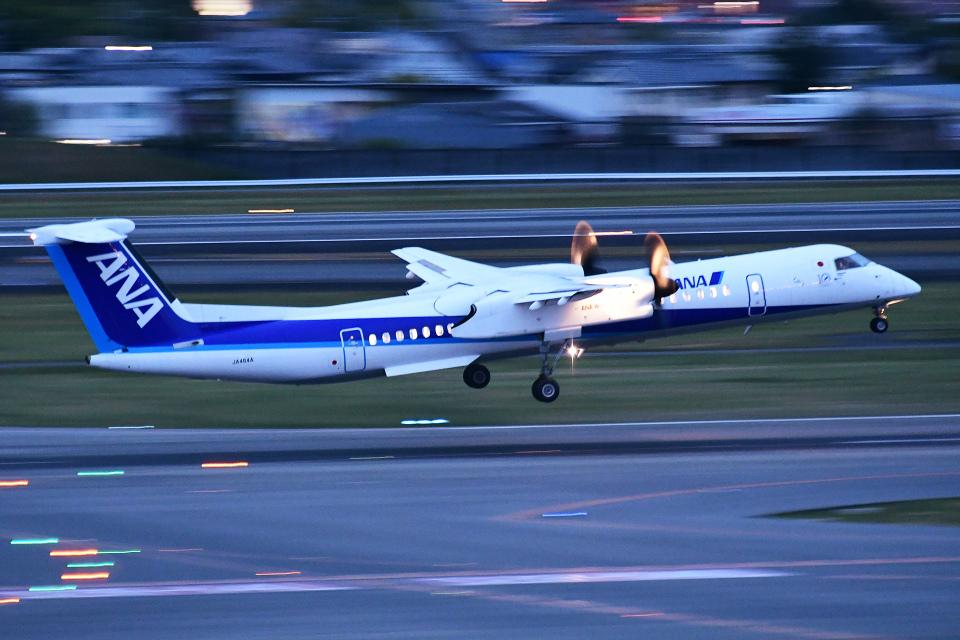 TOPAZ102さんのANAウイングス Bombardier DHC-8-400 (JA464A) 航空フォト