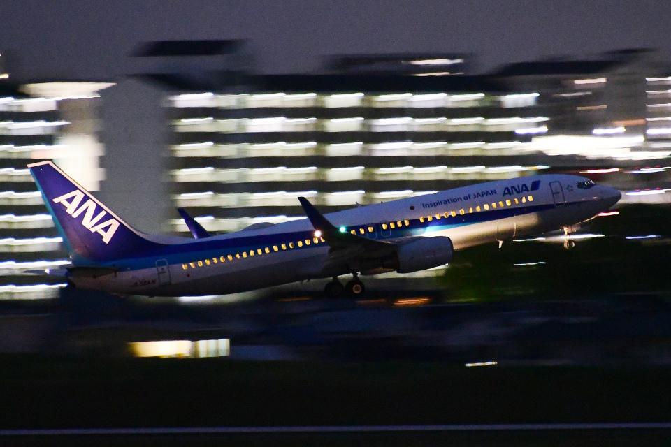 TOPAZ102さんの全日空 Boeing 737-800 (JA56AN) 航空フォト