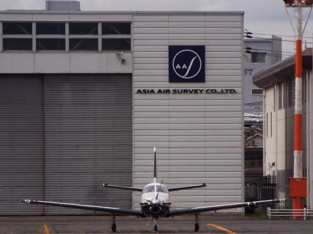 YaoRJOYさんが、八尾空港で撮影した日本法人所有 TBM-700の航空フォト(飛行機 写真・画像)