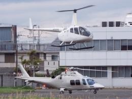 YaoRJOYさんが、八尾空港で撮影した日本法人所有 AW109SPの航空フォト(飛行機 写真・画像)