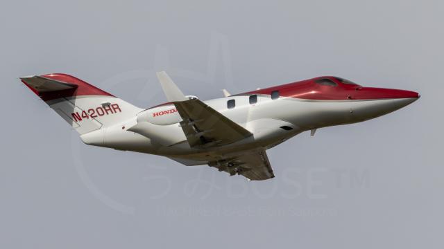 うみBOSEさんが、札幌飛行場で撮影したアメリカ企業所有 HA-420の航空フォト(飛行機 写真・画像)