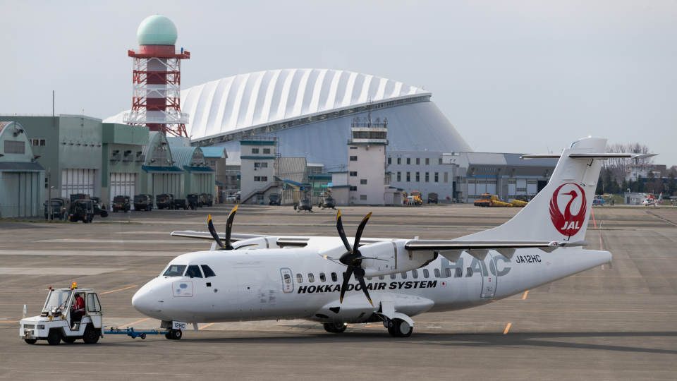 うみBOSEさんの北海道エアシステム ATR 42 (JA12HC) 航空フォト