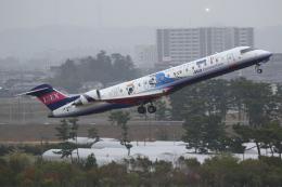 やまけんさんが、仙台空港で撮影したアイベックスエアラインズ CL-600-2C10 Regional Jet CRJ-702ERの航空フォト(飛行機 写真・画像)