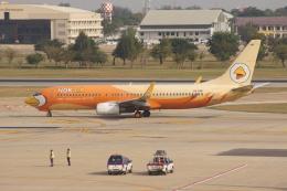 磐城さんが、ドンムアン空港で撮影したノックエア 737-8V3の航空フォト(飛行機 写真・画像)