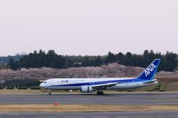 inyoさんが、成田国際空港で撮影した全日空 767-381/ERの航空フォト(飛行機 写真・画像)