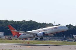 inyoさんが、成田国際空港で撮影したエア・インディア 787-8 Dreamlinerの航空フォト(飛行機 写真・画像)
