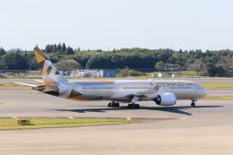 inyoさんが、成田国際空港で撮影したエティハド航空 787-9の航空フォト(飛行機 写真・画像)