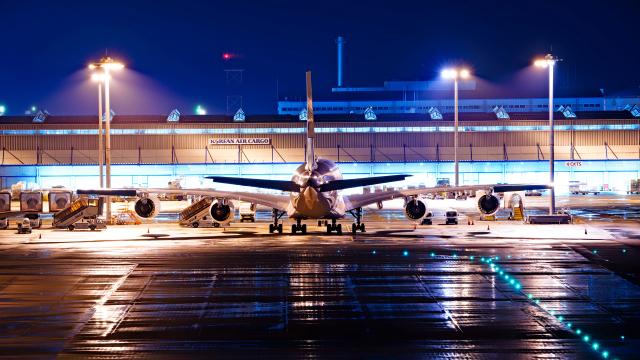 FLYPEAKSさんが、関西国際空港で撮影した全日空 A380-841の航空フォト(飛行機 写真・画像)