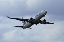 yoshibouさんが、福岡空港で撮影したスカイマーク 737-8ALの航空フォト(飛行機 写真・画像)