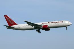 なごやんさんが、岩国空港で撮影したオムニエアインターナショナル 767-36N/ERの航空フォト(飛行機 写真・画像)