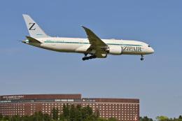 パンダさんが、成田国際空港で撮影したZIPAIR 787-8 Dreamlinerの航空フォト(飛行機 写真・画像)