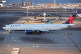 OS52さんが、羽田空港で撮影したデルタ航空 A330-941の航空フォト(飛行機 写真・画像)
