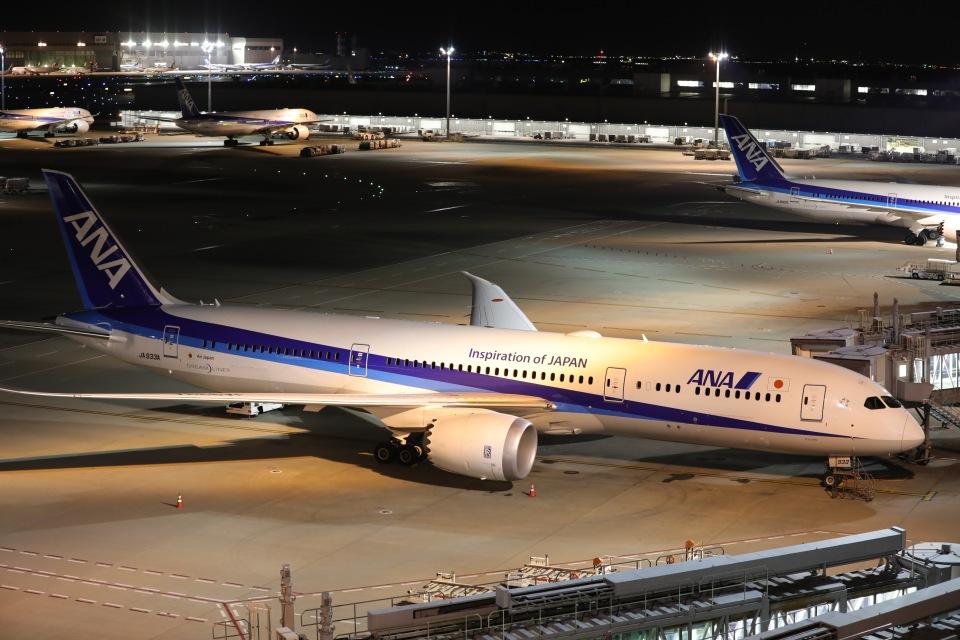 OS52さんの全日空 Boeing 787-9 (JA933A) 航空フォト