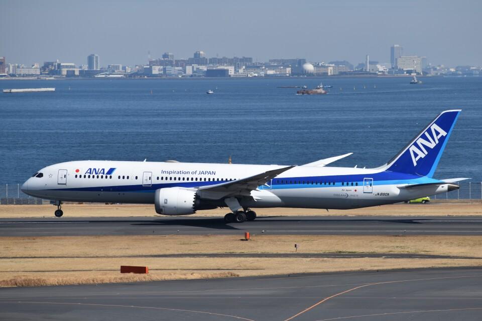 PIRORINGさんの全日空 Boeing 787-9 (JA880A) 航空フォト