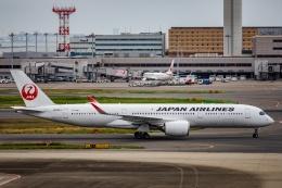 kikiさんが、羽田空港で撮影した日本航空 A350-941の航空フォト(飛行機 写真・画像)