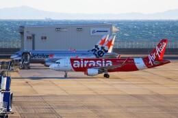 ばっきーさんが、中部国際空港で撮影したエアアジア・ジャパン A320-216の航空フォト(飛行機 写真・画像)