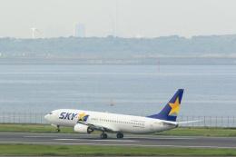 inyoさんが、羽田空港で撮影したスカイマーク 737-8HXの航空フォト(飛行機 写真・画像)
