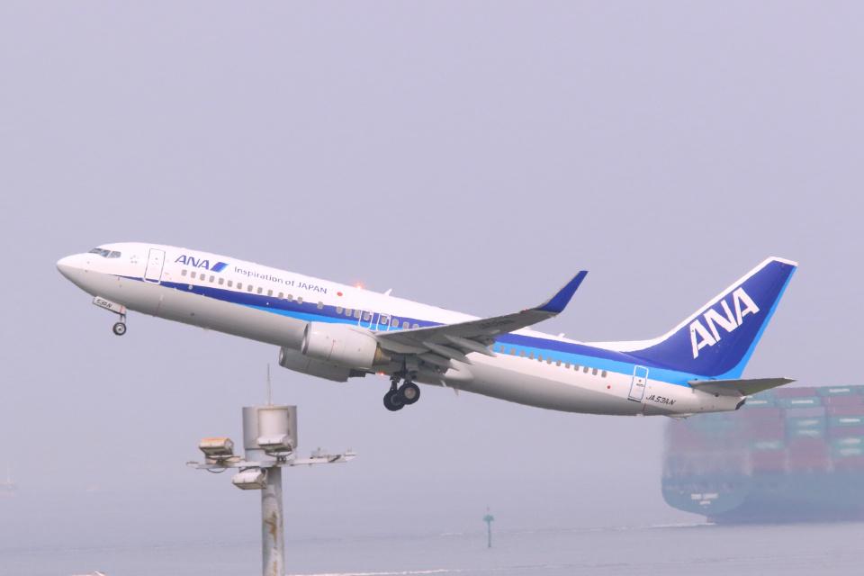 inyoさんの全日空 Boeing 737-800 (JA53AN) 航空フォト