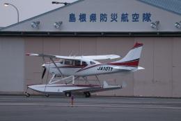 MIRAGE E.Rさんが、出雲空港で撮影した日本個人所有 T206H Turbo Stationairの航空フォト(飛行機 写真・画像)