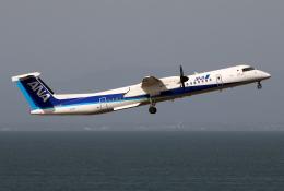 なごやんさんが、中部国際空港で撮影したANAウイングス DHC-8-402Q Dash 8の航空フォト(飛行機 写真・画像)