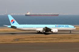なごやんさんが、中部国際空港で撮影した大韓航空 777-3B5/ERの航空フォト(飛行機 写真・画像)