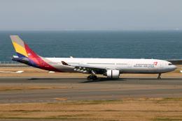 なごやんさんが、中部国際空港で撮影したアシアナ航空 A330-323Xの航空フォト(飛行機 写真・画像)