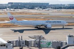 delawakaさんが、羽田空港で撮影した日本航空 777-346/ERの航空フォト(飛行機 写真・画像)