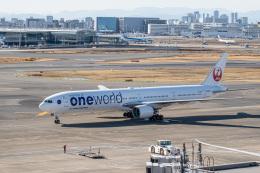 delawakaさんが、羽田空港で撮影した日本航空 777-346の航空フォト(飛行機 写真・画像)