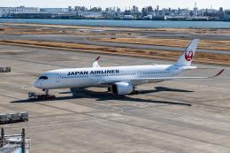 delawakaさんが、羽田空港で撮影した日本航空 A350-941の航空フォト(飛行機 写真・画像)