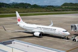 delawakaさんが、石垣空港で撮影した日本トランスオーシャン航空 737-8Q3の航空フォト(飛行機 写真・画像)