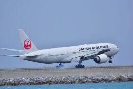 ER_b777logさんが、那覇空港で撮影した日本航空 777-246/ERの航空フォト(飛行機 写真・画像)