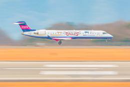 KAMIYA JASDFさんが、広島空港で撮影したアイベックスエアラインズ CL-600-2C10 Regional Jet CRJ-702の航空フォト(飛行機 写真・画像)