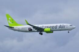 ER_b777logさんが、那覇空港で撮影したソラシド エア 737-86Nの航空フォト(飛行機 写真・画像)