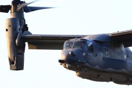 MH-38Rさんが、三沢飛行場で撮影したアメリカ空軍 CV-22Bの航空フォト(飛行機 写真・画像)