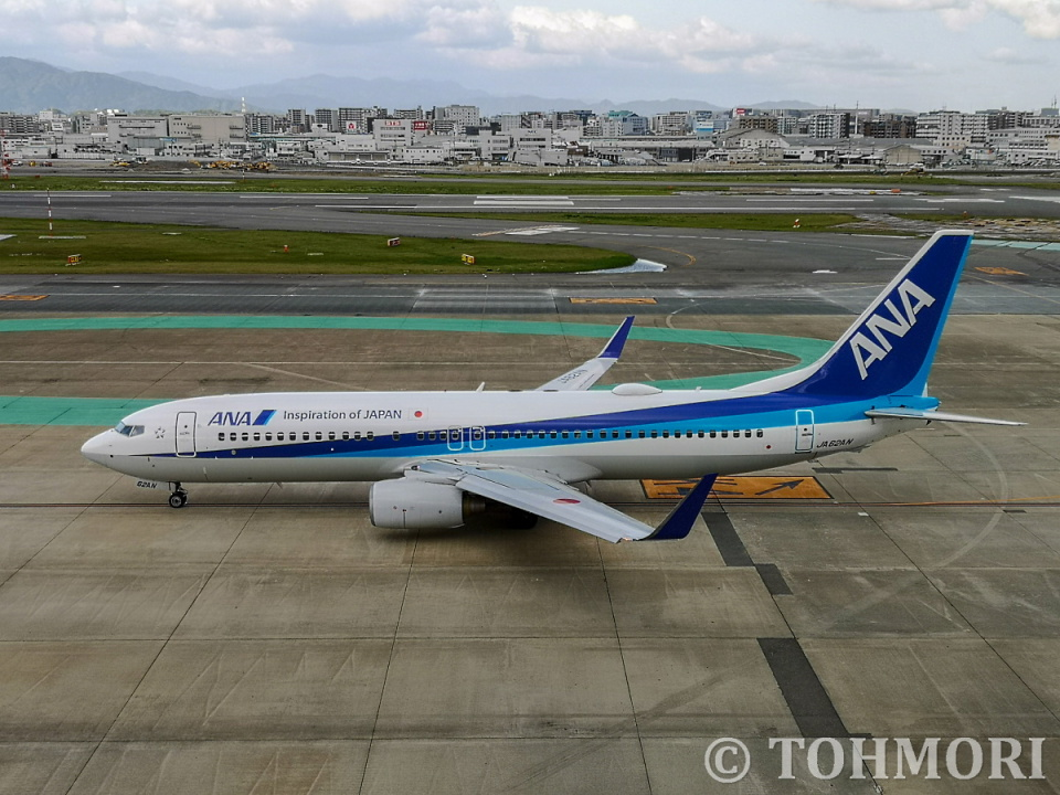 遠森一郎さんの全日空 Boeing 737-800 (JA62AN) 航空フォト