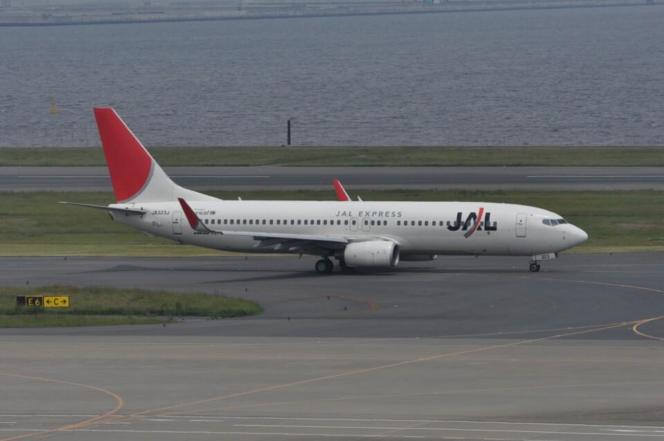 kumagorouさんのJALエクスプレス Boeing 737-800 (JA323J) 航空フォト