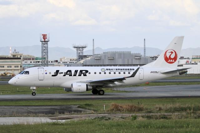 aki241012さんが、福岡空港で撮影したジェイエア ERJ-170-100 (ERJ-170STD)の航空フォト(飛行機 写真・画像)